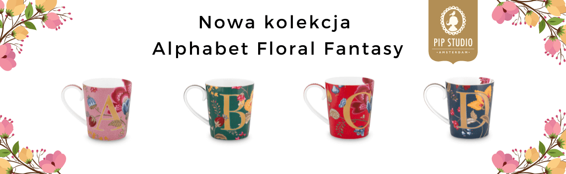 floral fantasy alphabet