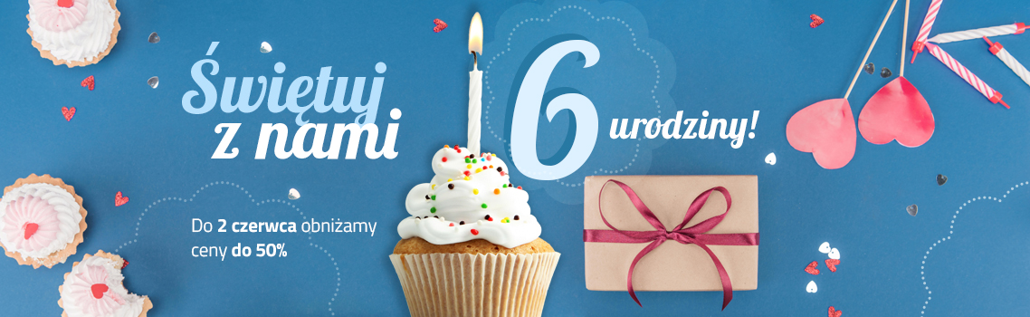 6 urodziny sklepu