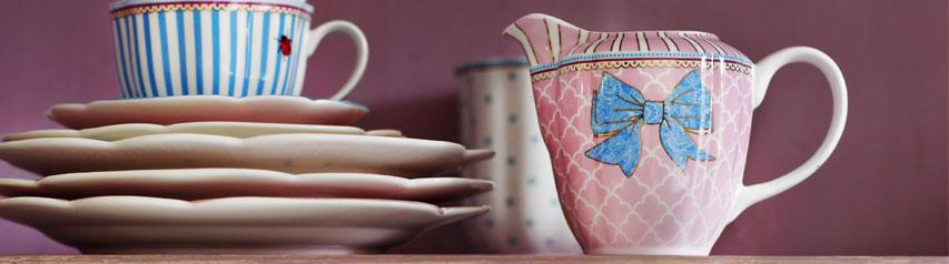 Dzbanuszki porcelanowe