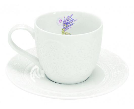 Filiżanka porcelanowa Lawenda