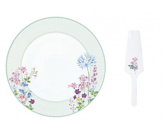 Patera porcelanowa Floraison