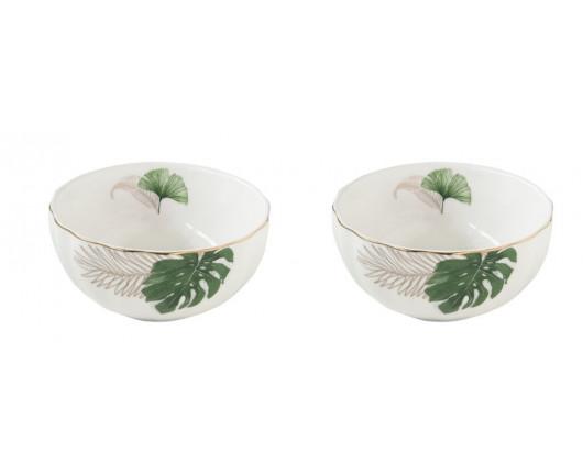 Zestaw 2 kubków porcelanowych Exotique