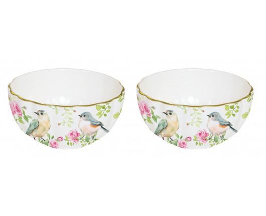 Zestaw 2 miseczek porcelanowych Spring Time