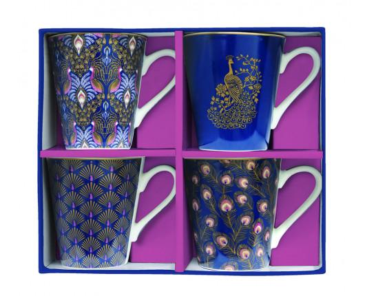 Kubki porcelanowe Coffeemania Peacock