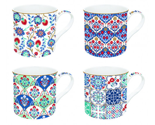 Kubki porcelanowe Coffeemania Iznik
