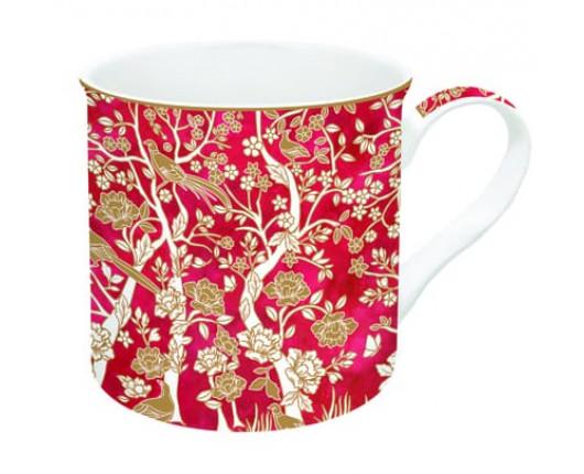 Kubek porcelanowy Coffeemania Okinawa Red