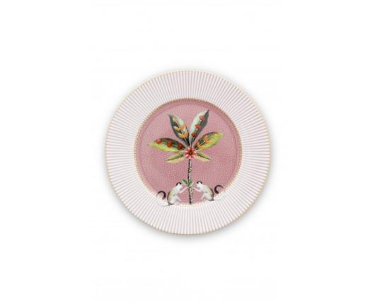 Talerz deserowy La Majorelle Pink PiP Studio