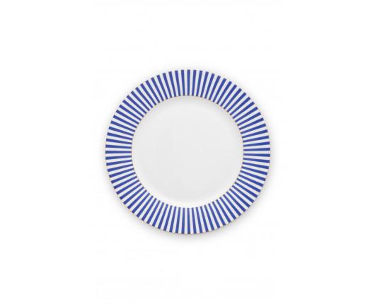 Talerz obiadowy Royal Stripes 26,5 cm