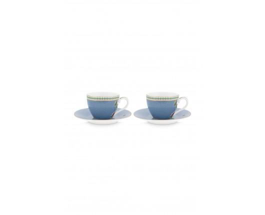 iliżanki espresso La Majarolle Blue 120 ml