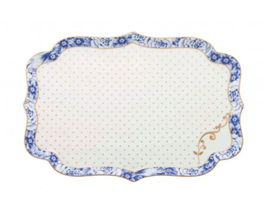 Patera Royal White Pip Studio, 26 cm