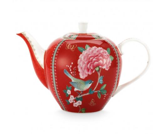 Dzbanek do herbaty Blushing Birds Red