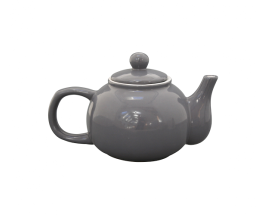 dzbanek do herbaty ciemnoszary