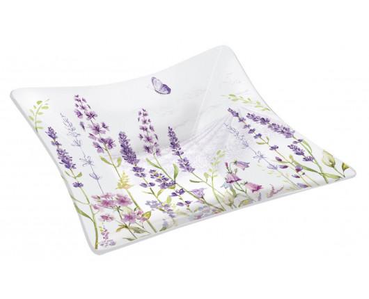Półmisek szklany Lavender Field duży