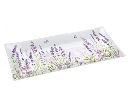Półmisek szklany Lavender Field
