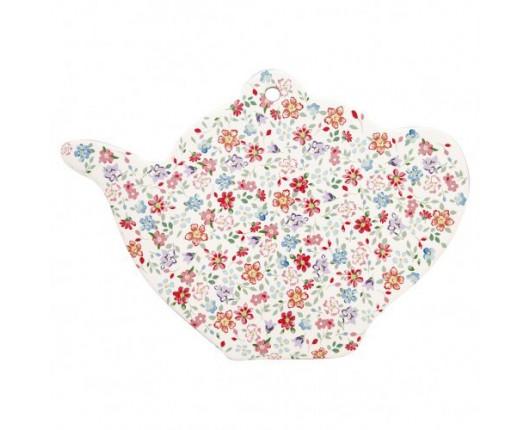 Talerzyk na herbatę Clementine White