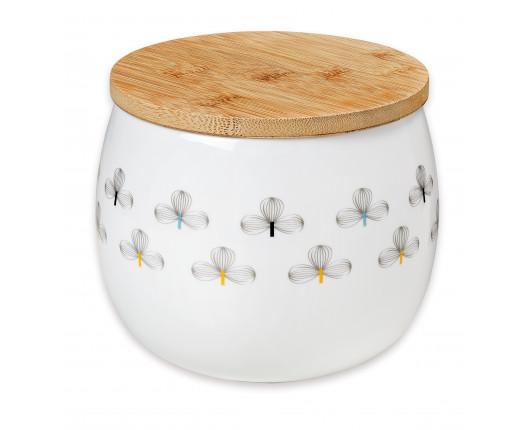 pojemniki porcelanowe z pokrywką