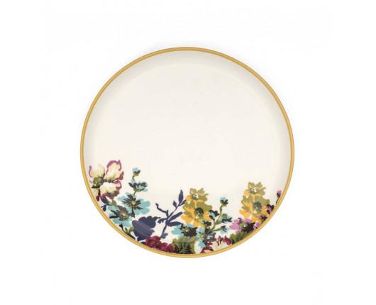 Talerze porcelanowe Floral Joules 4 sztuki