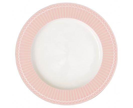 alerz obiadowy Alice Pale Pink