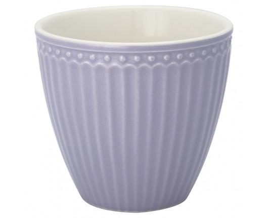 Kubek latte Alice Lavender