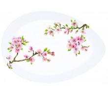 Półmisek porcelanowy Sakura Easy Life, 36x25 cm