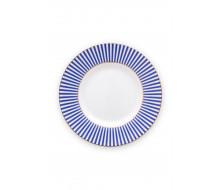 Talerz deserowy Royal Stripes PiP Studio, 12 cm