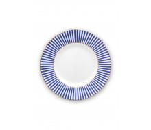 Talerz deserowy Royal Stripes PiP Studio, 17 cm