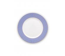 Talerz deserowy Royal Stripes PiP Studio, 21 cm
