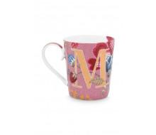 """Kubek Floral Fantasy Pink """"M"""" PiP Studio, 350 ml"""