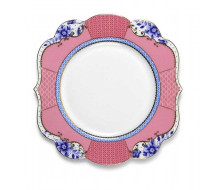 Talerz deserowy Royal S Pink 17 cm