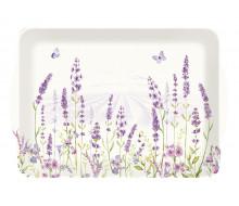 Taca do serwowania Lavender Field Easy Life, 46x32 cm