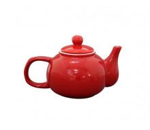 Dzbanek do herbaty czerwony