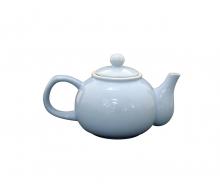 Dzbanek do herbaty błękitny