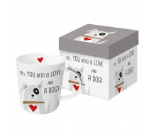 Kubek Love and Dog PPD, 350 ml