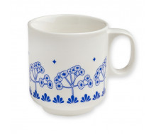 Kubek porcelanowy Blue Trees