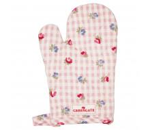 Rękawica kuchenna dla dziewczynki Viola Check Pale Pink