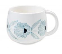 Kubek porcelanowy Blue Flowers
