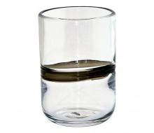 Zestaw szklanek Stripe Black 6 szt.