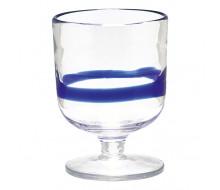 Kieliszki do wina/wody Stripe Blue 6 szt.