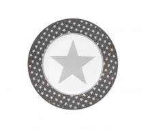 Talerz deserowy Big Star ciemnoszary