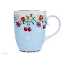 Kubek Cherry Blue Floral