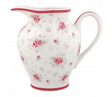 Dzbanuszek porcelanowy Flora White