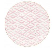 Talerz deserowy Kassandra pale pink