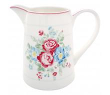 Dzbanek porcelanowy Henrietta White 1l