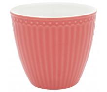 Kubek latte Alice Coral Green Gate, 250 ml