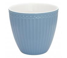 Kubek latte Alice Sky Blue Green Gate, 250 ml