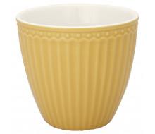 Kubek latte Alice Honey Mustard Green Gate, 250 ml