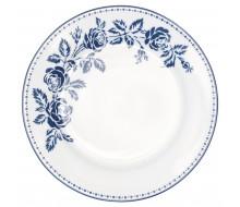 Talerz deserowy Fleur Blue