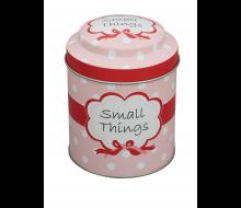 Puszka ozdobna z napisem SMALL THINGS