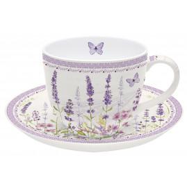 Filiżanka porcelanowa Lavender Field