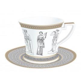 Filiżanka porcelanowa Palladium